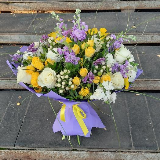 Позитив Вам в ленту: букеты цветов на заказ Flowwow