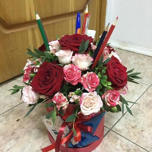 Любимой учительнице: букеты цветов на заказ Flowwow