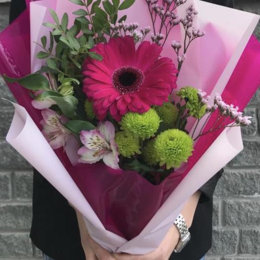 Приветствие: букеты цветов на заказ Flowwow