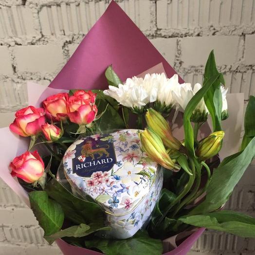 Чайный: букеты цветов на заказ Flowwow