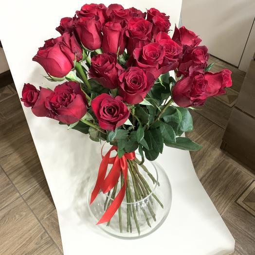 70 см розы: букеты цветов на заказ Flowwow