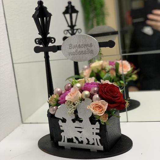 Вместе навсегда: букеты цветов на заказ Flowwow