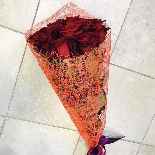 Классика бордо 2: букеты цветов на заказ Flowwow