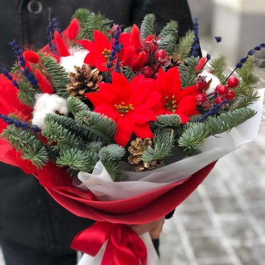 Рождественный сон: букеты цветов на заказ Flowwow