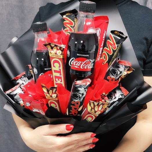 Букет для мужчин: букеты цветов на заказ Flowwow