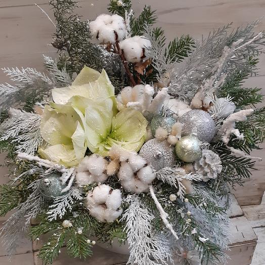 Самая стильная зимняя коробка: букеты цветов на заказ Flowwow
