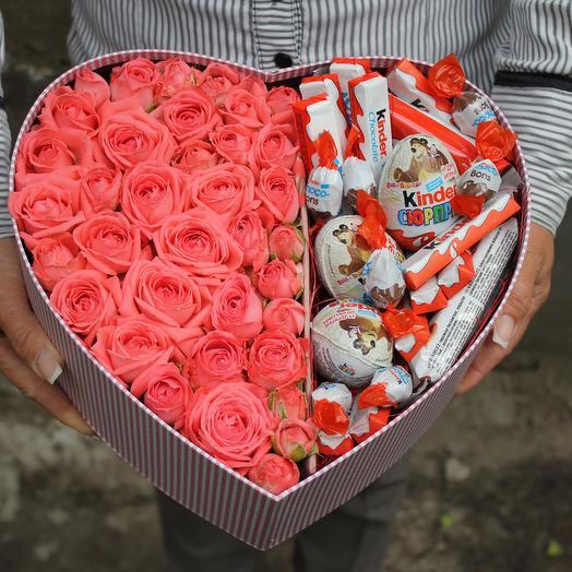 LOVE box: букеты цветов на заказ Flowwow