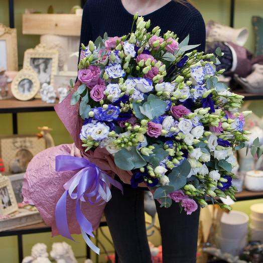 Букет из лизиантусов (101 стебель): букеты цветов на заказ Flowwow