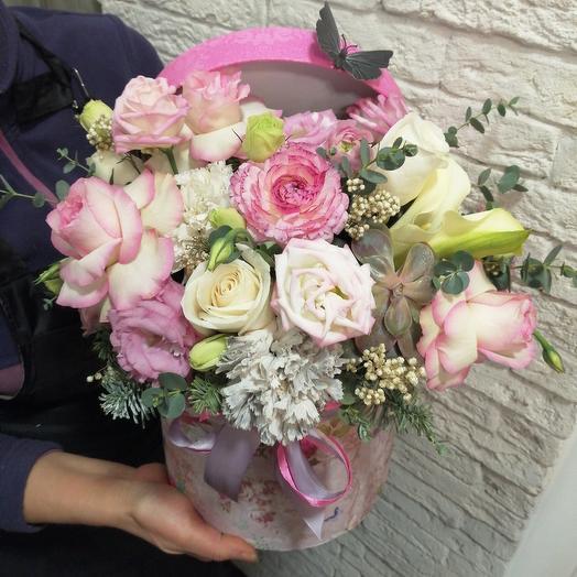 Очень красивая коробка: букеты цветов на заказ Flowwow