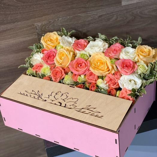 Зефир с сюрпризом: букеты цветов на заказ Flowwow