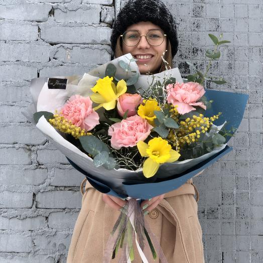 Весеннее небо: букеты цветов на заказ Flowwow