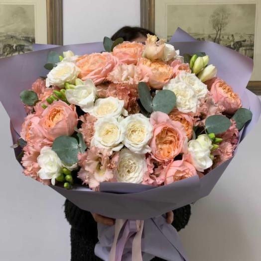 Нежная нежность: букеты цветов на заказ Flowwow