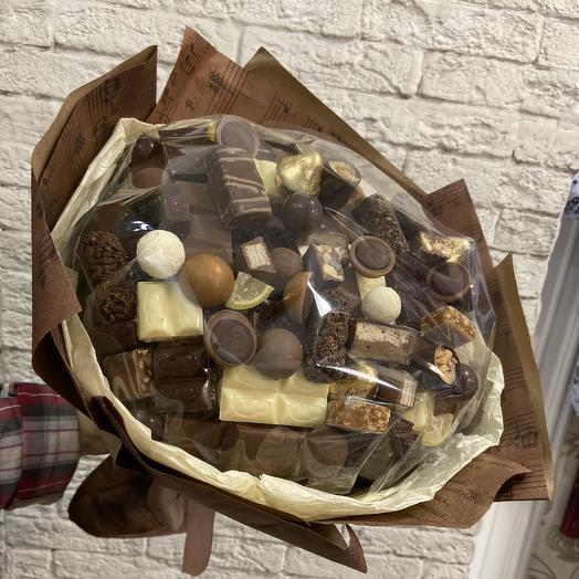 Букет « шоколадное наслаждение» большой: букеты цветов на заказ Flowwow