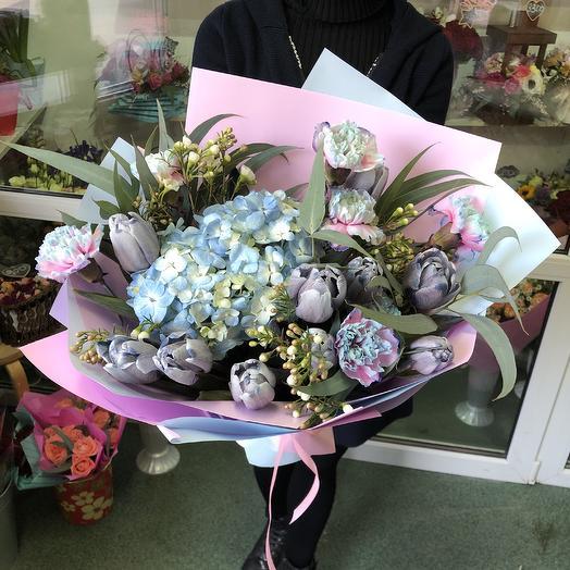Голубое небо: букеты цветов на заказ Flowwow