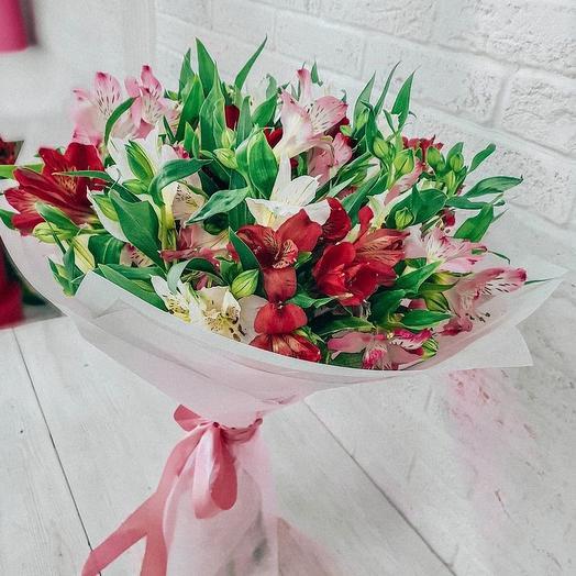 "Букет "" ДЛЯ моей ЛЮБИМОЙ"": букеты цветов на заказ Flowwow"