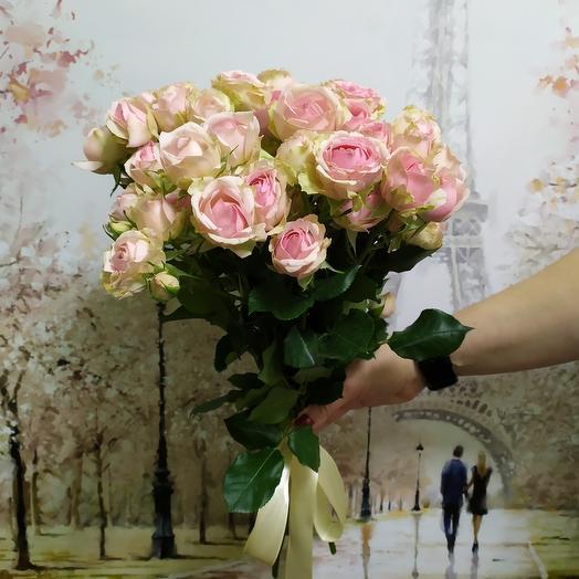 Роза кустовая 9: букеты цветов на заказ Flowwow
