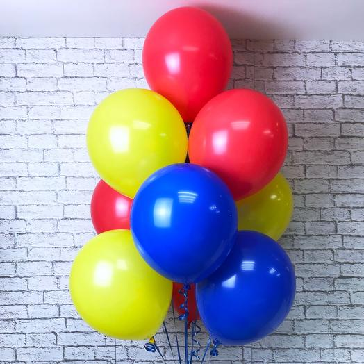 10 шариков пастель (цвета на выбор): букеты цветов на заказ Flowwow
