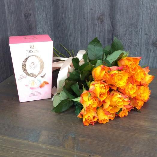 Mononoke of roses and box of chocolates