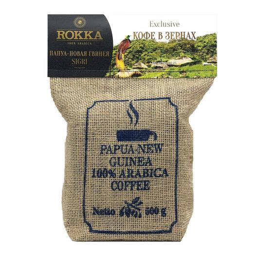 """Кофе в зернах """"Rokka"""" Папуа-Новая Гвинея"""