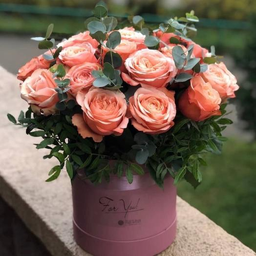 Цветы в коробке Кахала