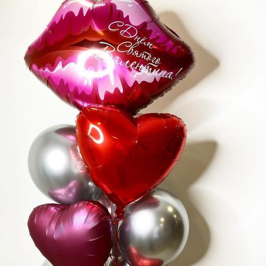 Букет сердец 11