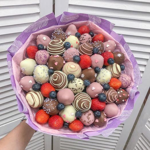 Букет из клубники в Шоколаде Бэтти