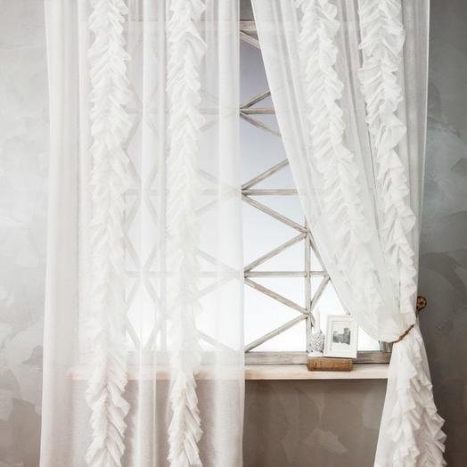 Комплект штор Иви Белый, 200х270 см - 2 шт