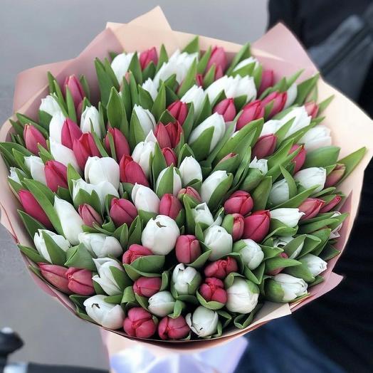 Тюльпаны микс б