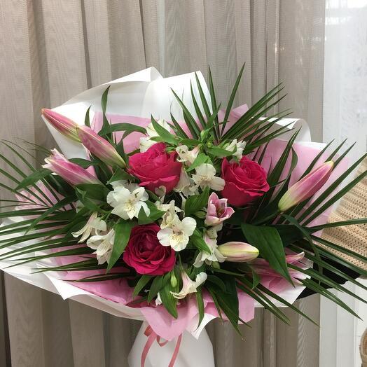 Розовая грация