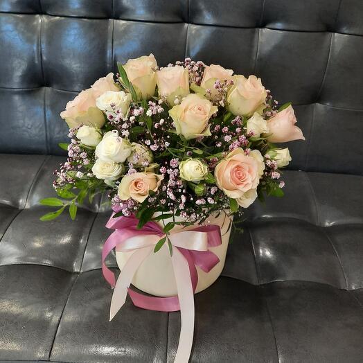Цветы в коробке N18
