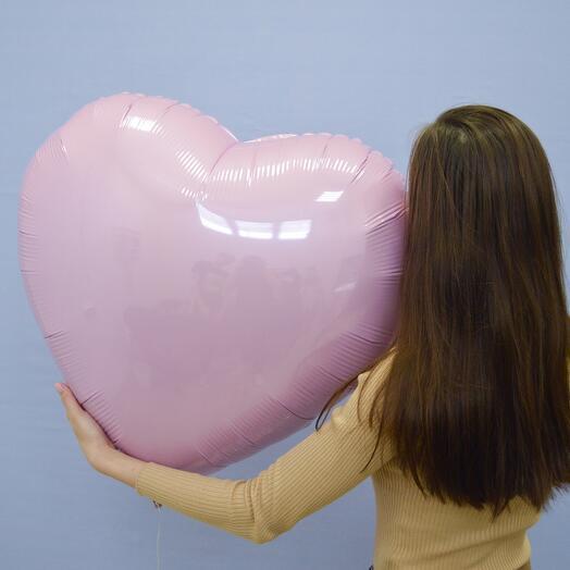 Большое фольгированное сердце