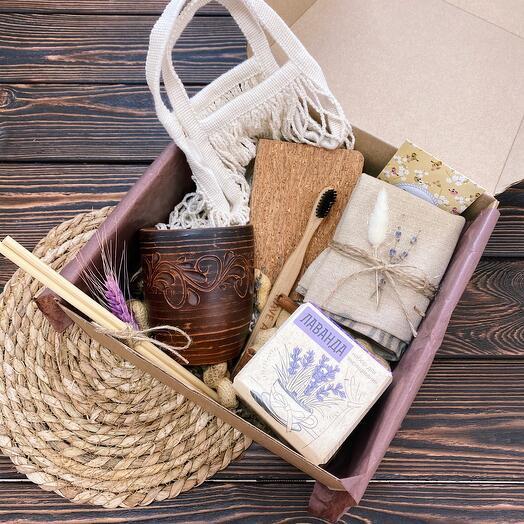 Подарок девушке «Экологичный Box»/ Подарочный набор женщине