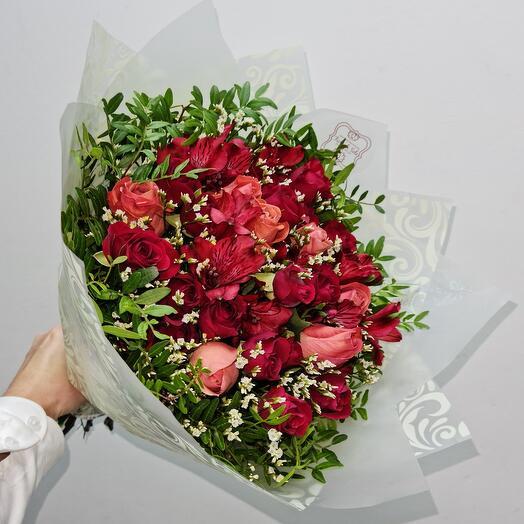 Шикарные розы для принцессы