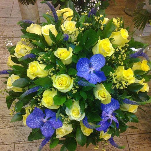 Лимонный бриз: букеты цветов на заказ Flowwow