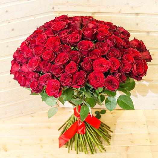 Букет - 101 алая роза