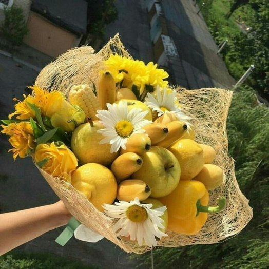 Тропическая страна: букеты цветов на заказ Flowwow