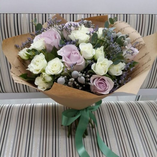 Ванильный коктейль: букеты цветов на заказ Flowwow