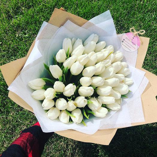 Настроение Тюльпаны: букеты цветов на заказ Flowwow