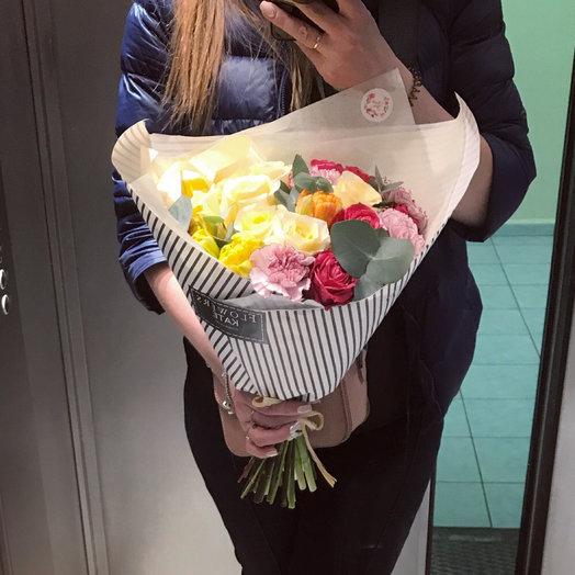 Букет от флориста.: букеты цветов на заказ Flowwow