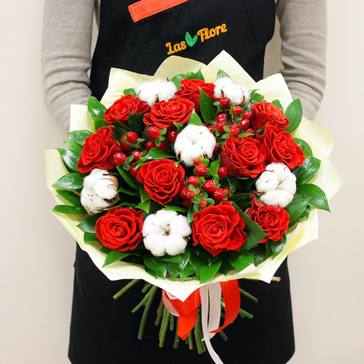 Зимняя дорога: букеты цветов на заказ Flowwow