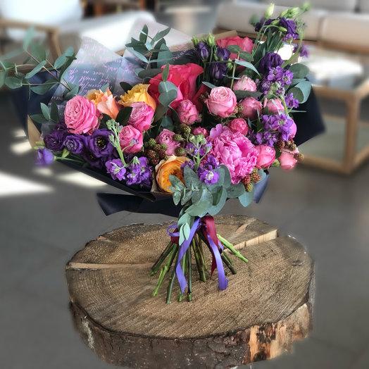 Черничный: букеты цветов на заказ Flowwow