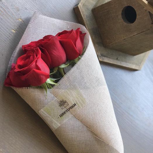 """Букет из роз """"Все просто"""""""