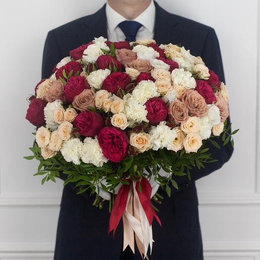 Авторский букет Amour: букеты цветов на заказ Flowwow