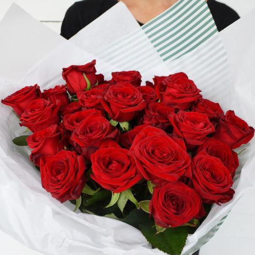 Букет из 27-ми роз