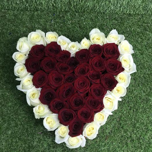 Сердцеед ❣️❣️❣️: букеты цветов на заказ Flowwow