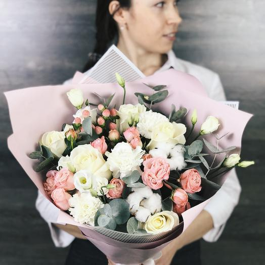 Букет для Мамы 4: букеты цветов на заказ Flowwow