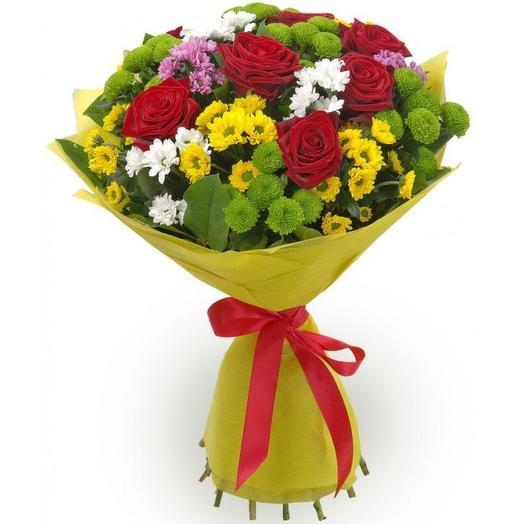 Букет 029: букеты цветов на заказ Flowwow