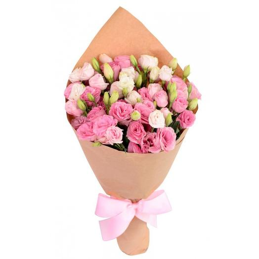 "Букет ""9 эустом"": букеты цветов на заказ Flowwow"