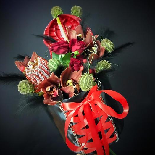 Пикантный букет  3: букеты цветов на заказ Flowwow