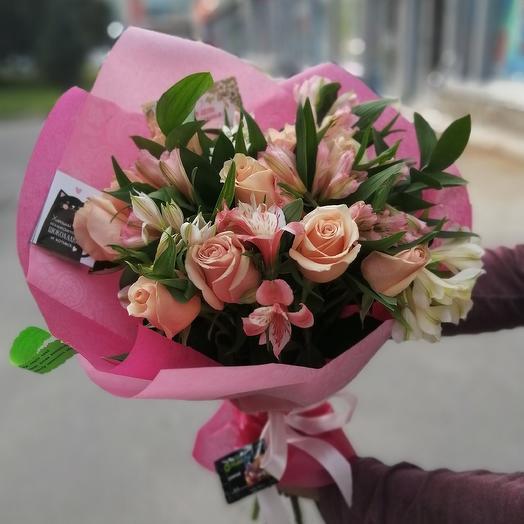 """Букет """"нежные чувства"""": букеты цветов на заказ Flowwow"""